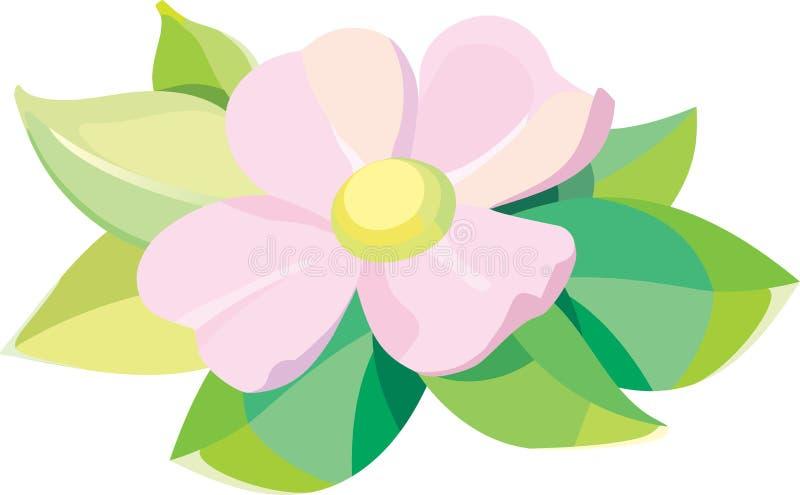 Flor violeta libre illustration