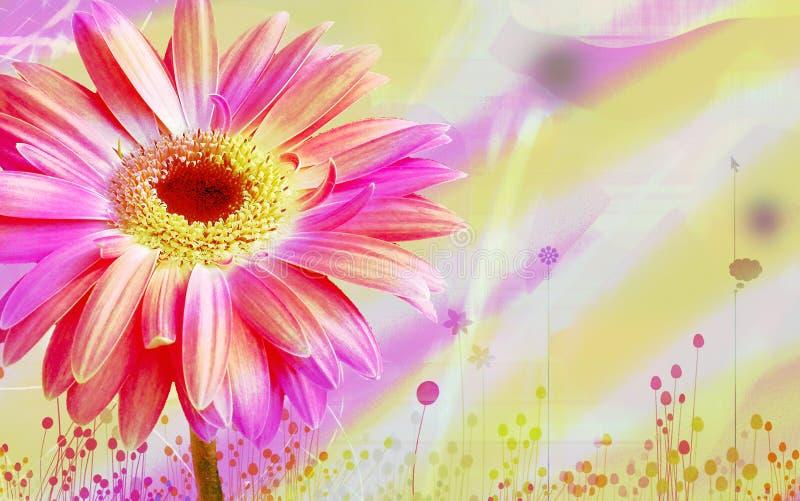 Download Flora background design stock illustration. Illustration of flowers - 6242065