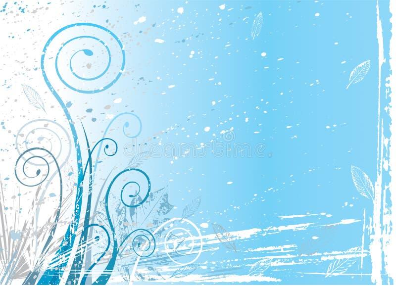 Flora del invierno stock de ilustración
