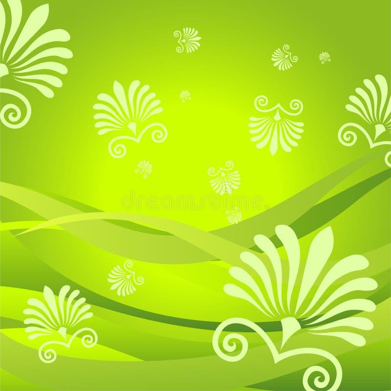 flora tło ilustracji