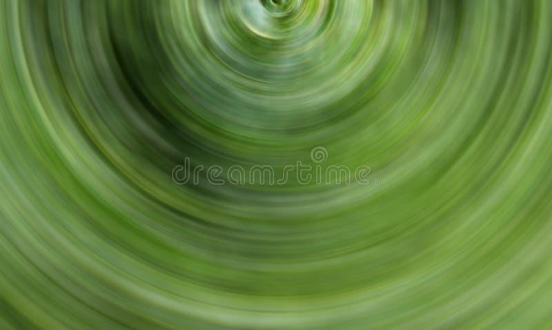 Flora verde di prospettiva del tunnel del volume di effetto dell'onda del movimento di astrazione del fondo fotografie stock libere da diritti