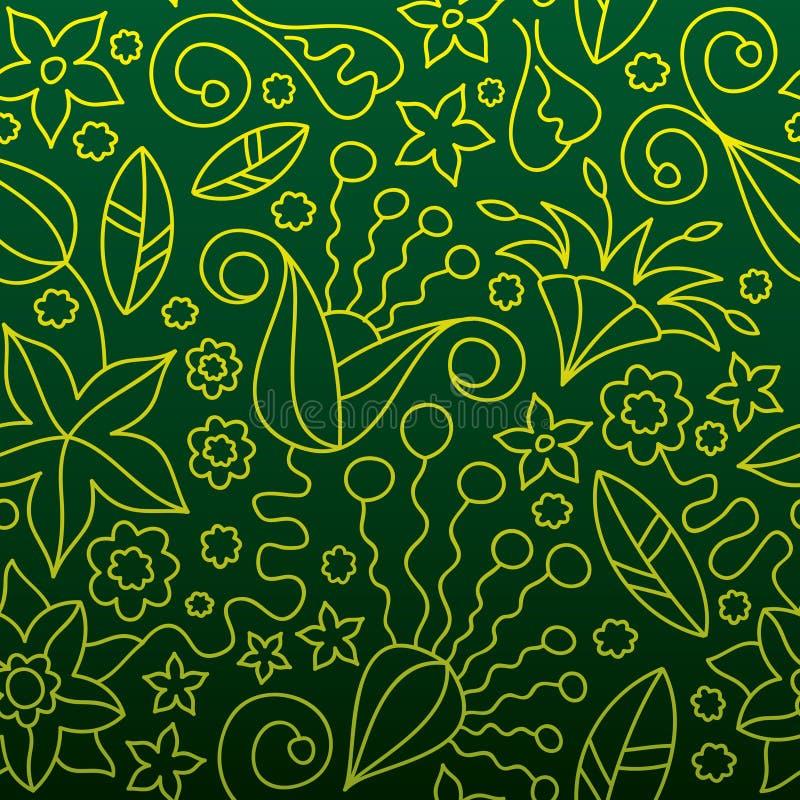 Download Floral άνευ ραφής ανασκόπησης Διανυσματική απεικόνιση - εικονογραφία από λουλούδι, συλλογή: 13178003