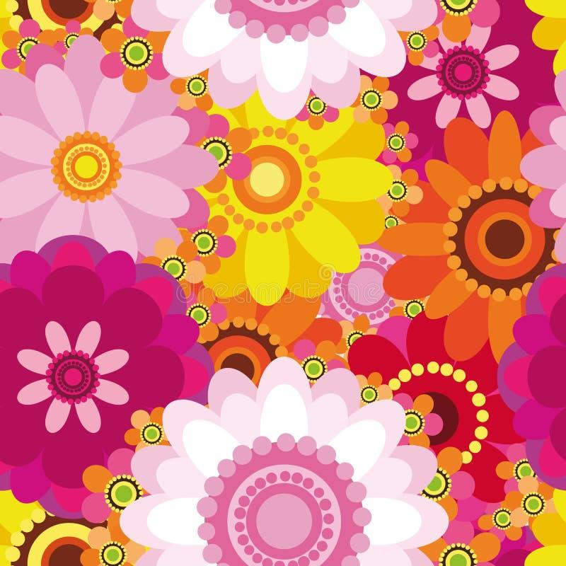 floral άνευ ραφής Πάσχας ανασκόπ&e διανυσματική απεικόνιση