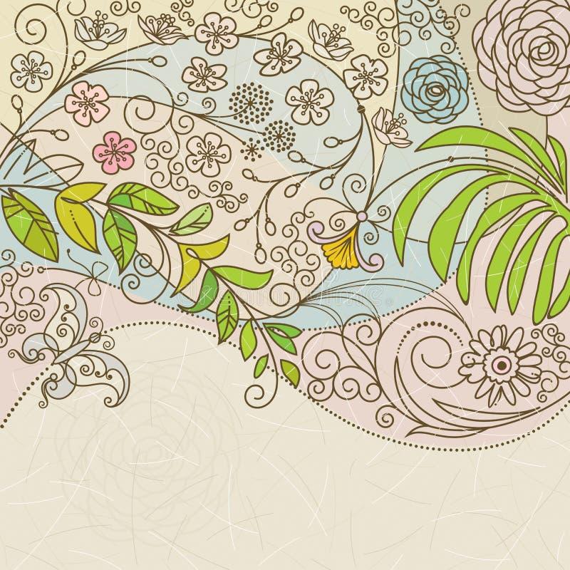 floral άνοιξη ελεύθερη απεικόνιση δικαιώματος