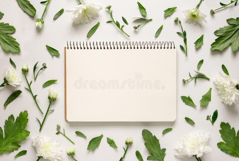 Floral άποψη υποβάθρου άνωθεν στοκ φωτογραφία με δικαίωμα ελεύθερης χρήσης