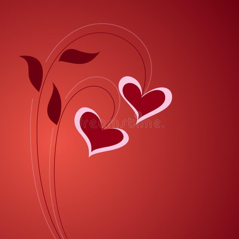 floral αγάπη έννοιας ελεύθερη απεικόνιση δικαιώματος