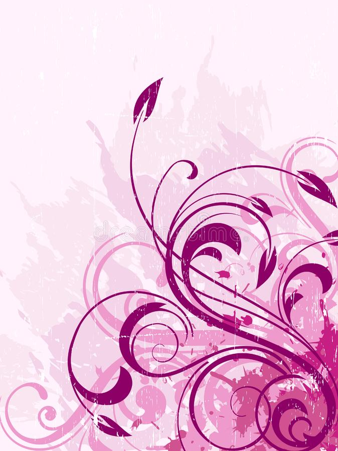 Floral ανασκόπηση στοκ εικόνα με δικαίωμα ελεύθερης χρήσης