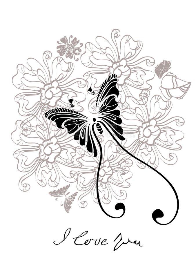 Download Floral γραπτή ανασκόπηση βαλεντίνων Διανυσματική απεικόνιση - εικονογραφία από ρωμανικός, ρομαντικός: 22789223