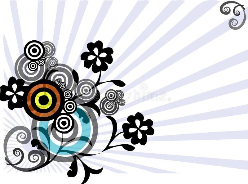 floral γραφικός σχεδίου ελεύθερη απεικόνιση δικαιώματος