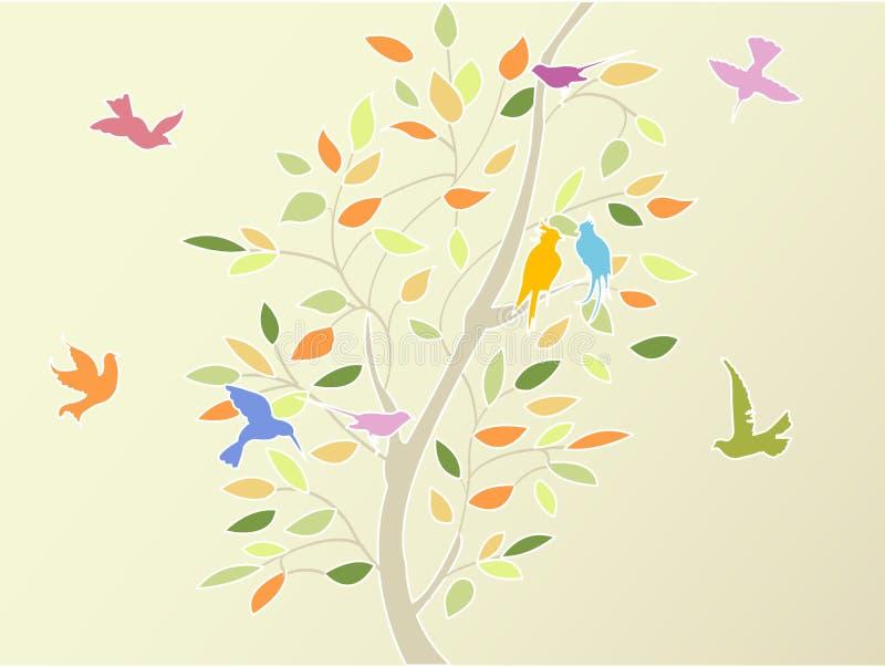 floral δέντρο απεικόνιση αποθεμάτων