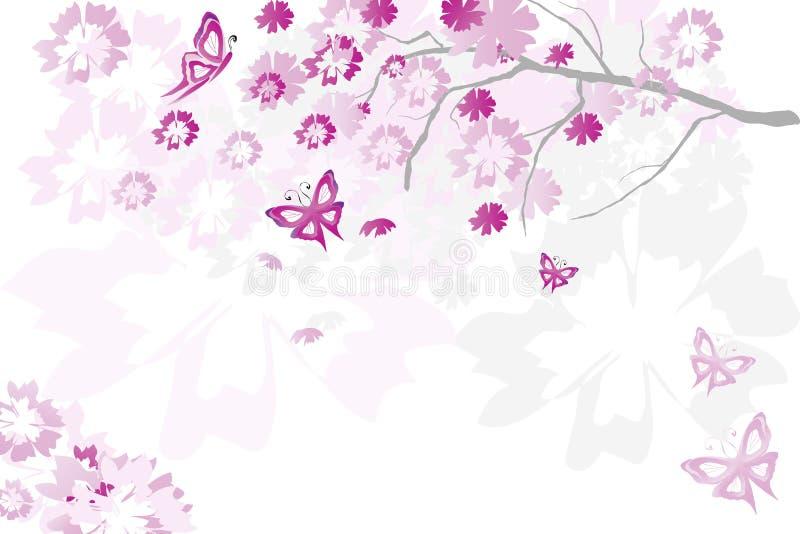 floral δέντρο στοκ εικόνα με δικαίωμα ελεύθερης χρήσης