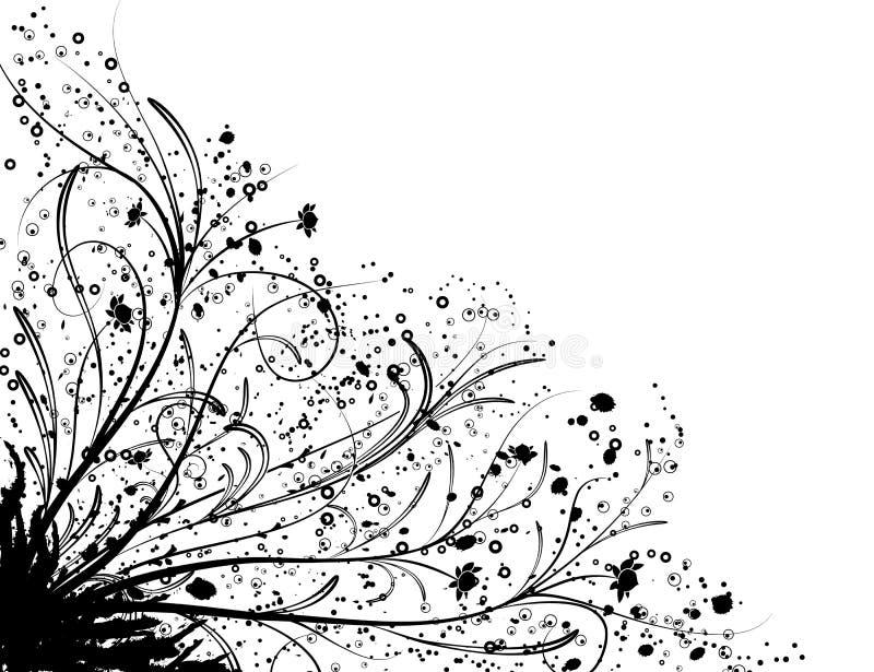 floral διάνυσμα στοιχείων σχεδίου διανυσματική απεικόνιση