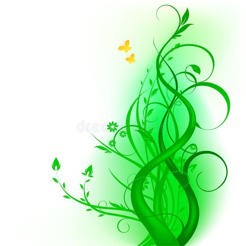 floral διάνυσμα σχεδίου ελεύθερη απεικόνιση δικαιώματος