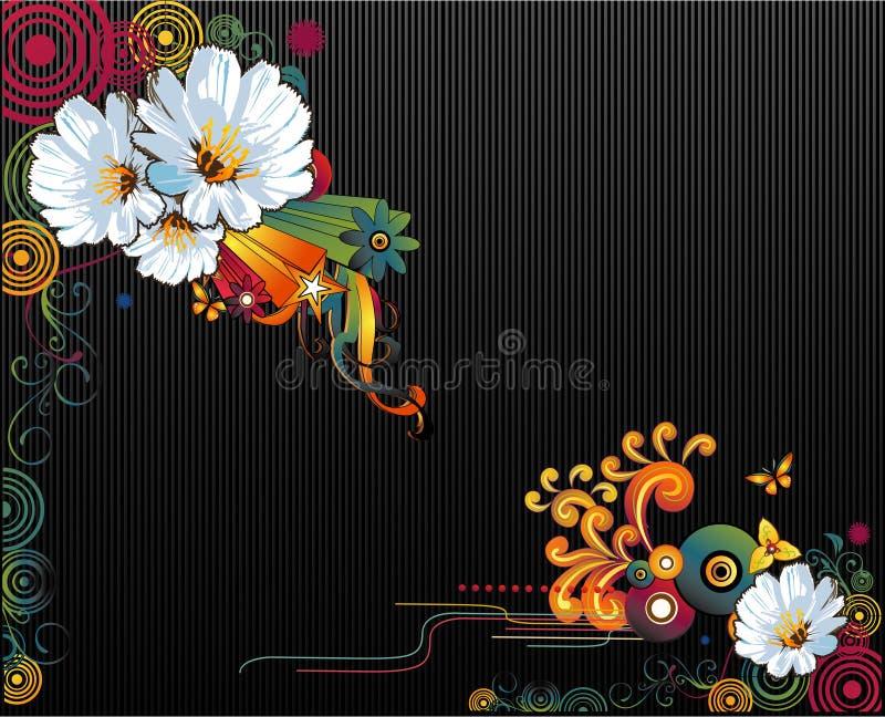 floral διάνυσμα απεικόνιση αποθεμάτων