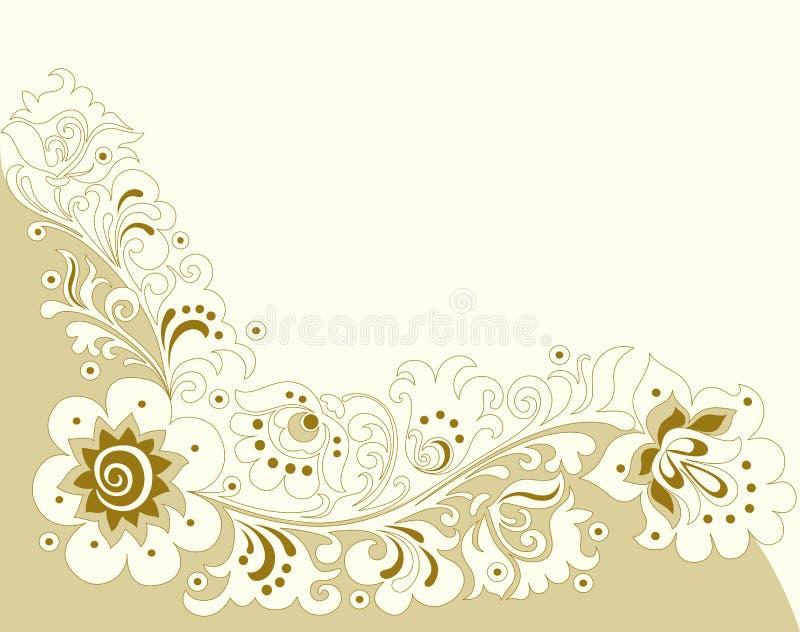 floral διακοσμητικό πρότυπο απεικόνιση αποθεμάτων