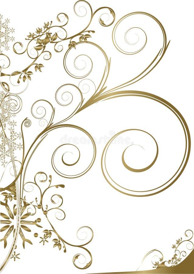 floral διακόσμηση απεικόνιση αποθεμάτων