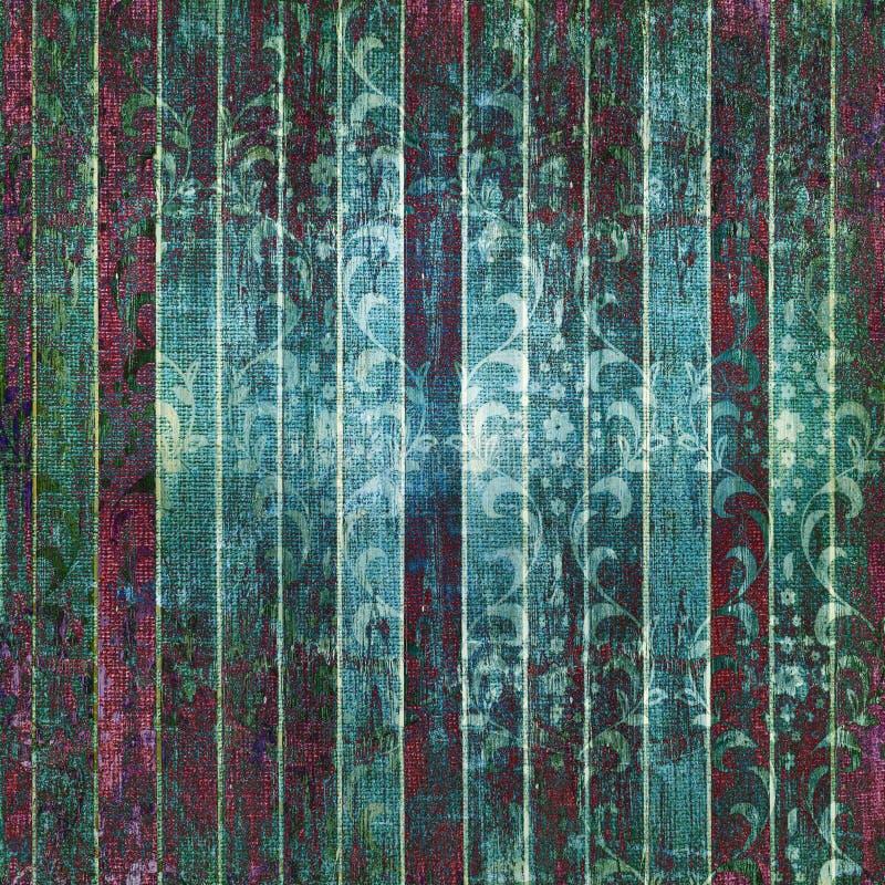 floral διακόσμηση grunge ανασκόπηση&sigm ελεύθερη απεικόνιση δικαιώματος