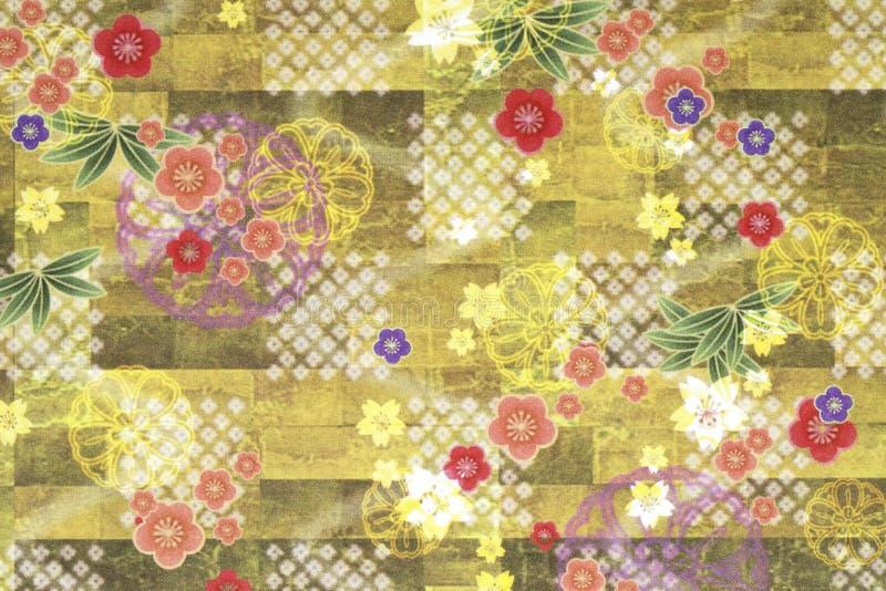 Floral εκλεκτής ποιότητας σχέδιο διανυσματική απεικόνιση