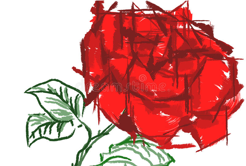 floral ζωή πρόσκλησης γεγονότω& απεικόνιση αποθεμάτων