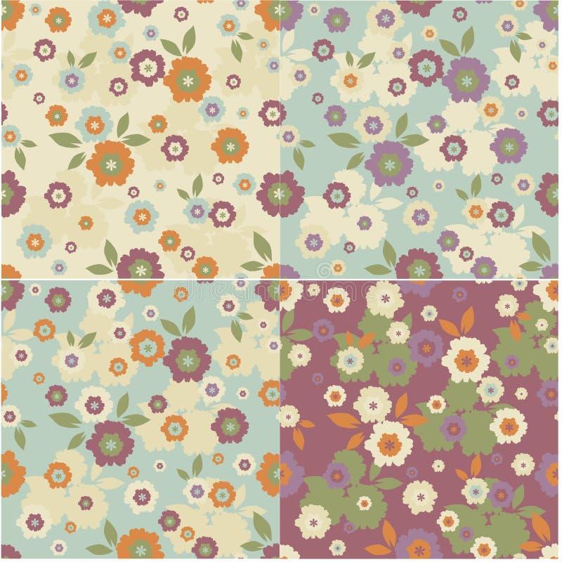 Download Floral καθορισμένες συστάσεις Διανυσματική απεικόνιση - εικονογραφία από εποχιακός, ντεκόρ: 22793314