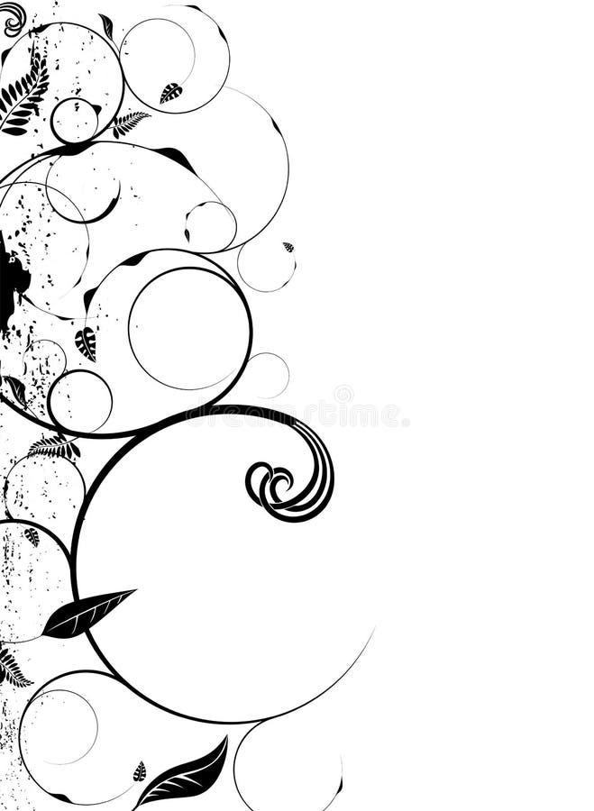 floral κύκλος διανυσματική απεικόνιση