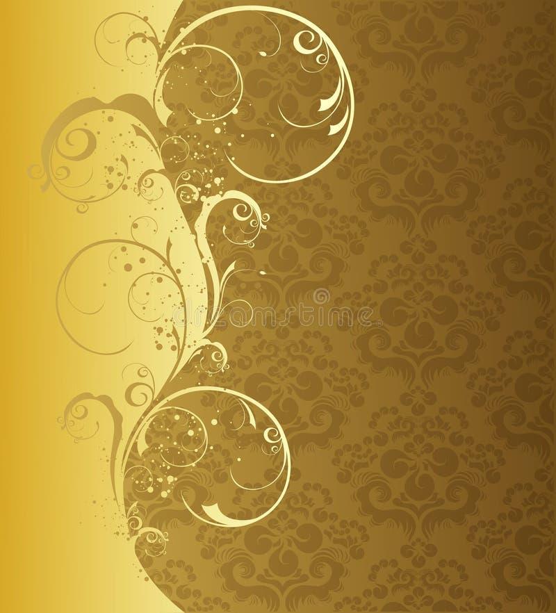 floral κύμα διανυσματική απεικόνιση