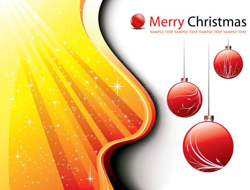 floral λαμπρά Χριστούγεννα αστ&eps ελεύθερη απεικόνιση δικαιώματος