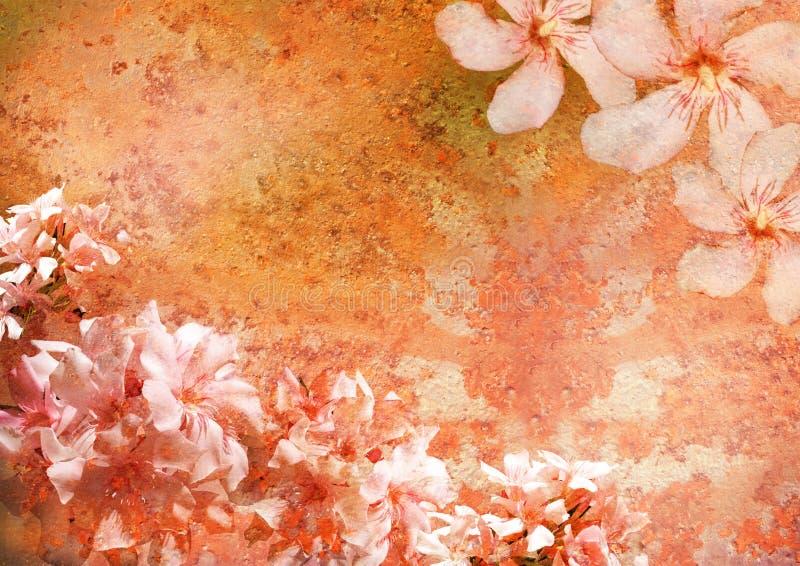 floral ορισμένος πλαίσιο τρύγ&omicron στοκ εικόνα με δικαίωμα ελεύθερης χρήσης