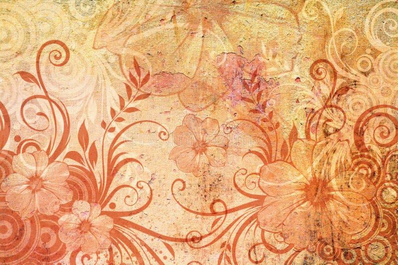 Floral πεδίο διανυσματική απεικόνιση