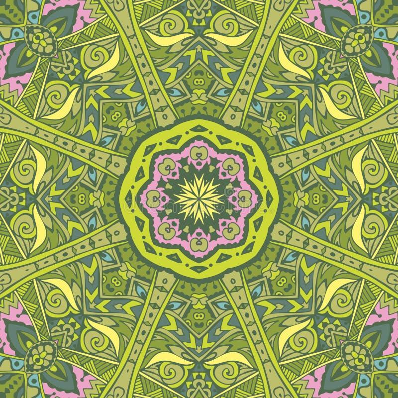 floral πράσινο διάνυσμα άνοιξη απεικόνισης ανασκόπησης ελεύθερη απεικόνιση δικαιώματος