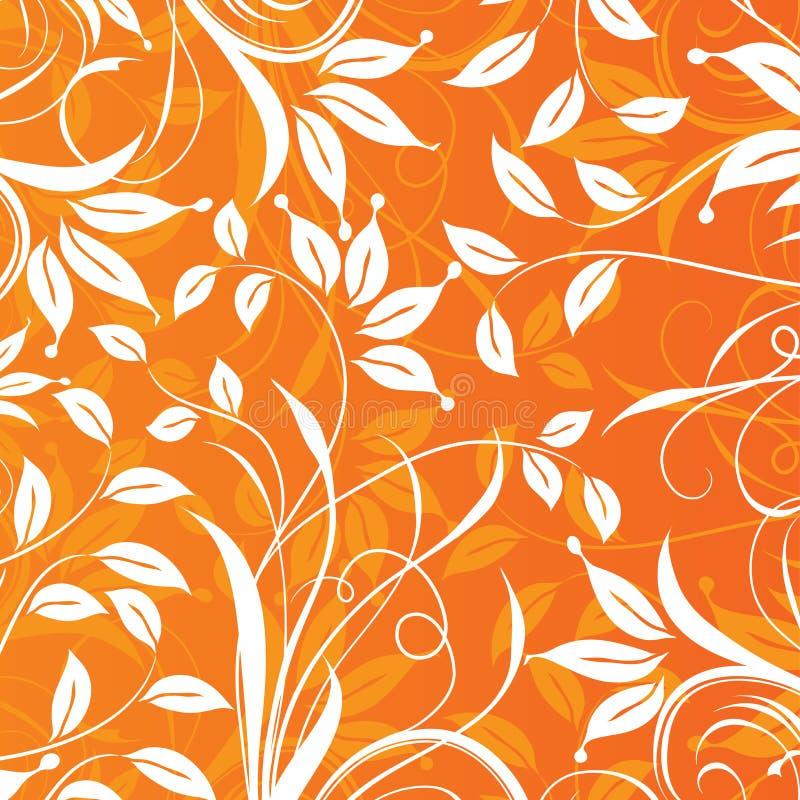 Floral πρότυπο, διάνυσμα διανυσματική απεικόνιση
