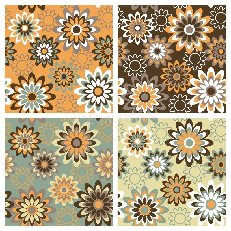 floral πρότυπο φθινοπώρου ελεύθερη απεικόνιση δικαιώματος