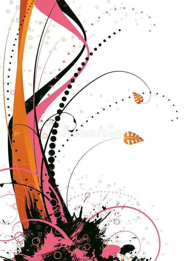 floral ροζ απεικόνιση αποθεμάτων