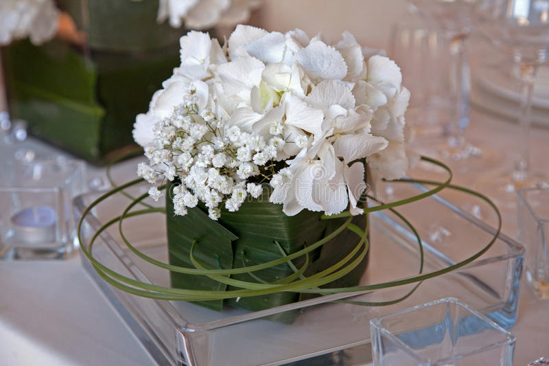 Floral ρυθμίσεις για το γάμο στοκ φωτογραφία