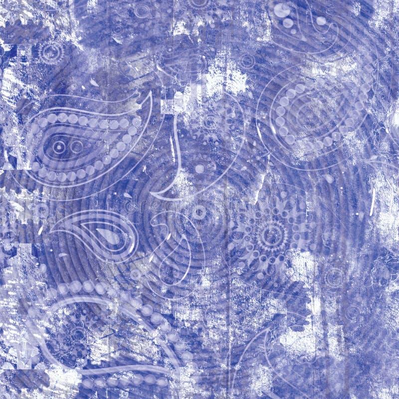 Αφηρημένο floral κολάζ εγγράφου στοιχείων Διανυσματικό χέρι απεικόνισης που σύρεται Σκίτσο έτοιμο για τη σύγχρονη Σκανδιναβική επ στοκ εικόνες με δικαίωμα ελεύθερης χρήσης