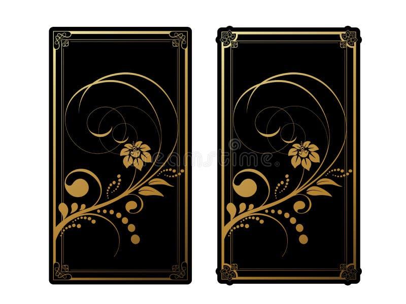 Floral στοιχεία για τη ευχετήρια κάρτα, πρόσκληση Σχέδιο λουλουδιών για το μονόγραμμα, το πλαίσιο, το έμβλημα και την ετικέτα Γρα ελεύθερη απεικόνιση δικαιώματος