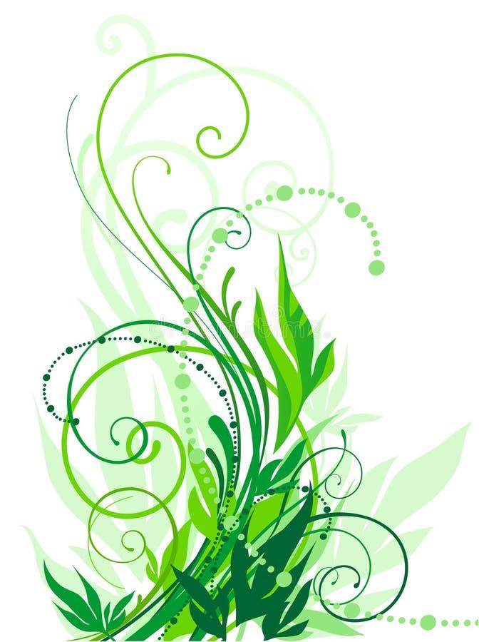 floral στρόβιλος ελεύθερη απεικόνιση δικαιώματος