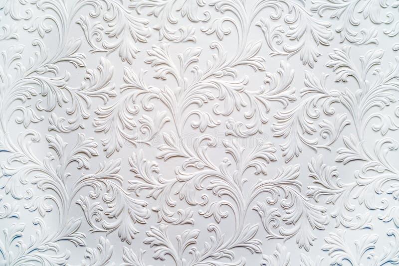 Floral σχέδιο υποβάθρου ασβεστοκονιάματος στοκ φωτογραφίες