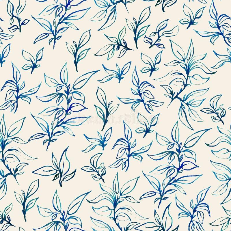 Floral σχέδιο seamles απεικόνιση αποθεμάτων