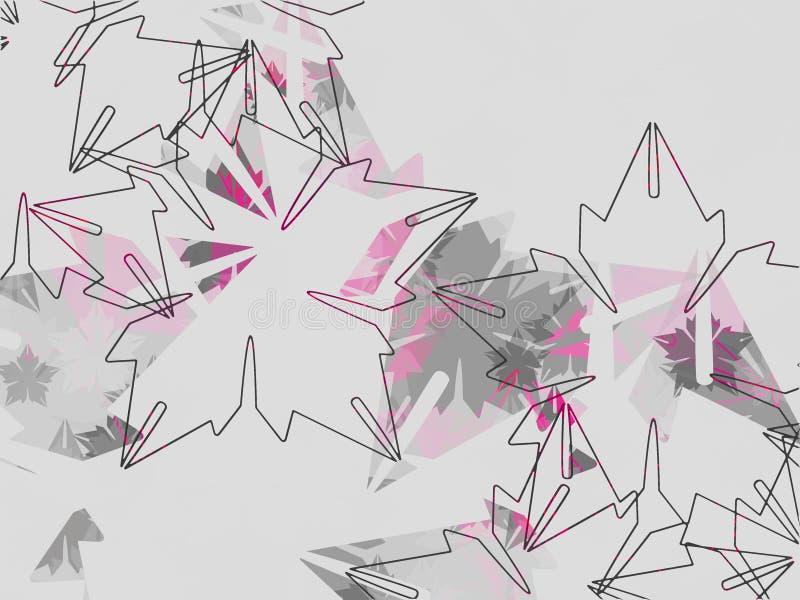 floral σύγχρονες διακοσμήσε&io ελεύθερη απεικόνιση δικαιώματος