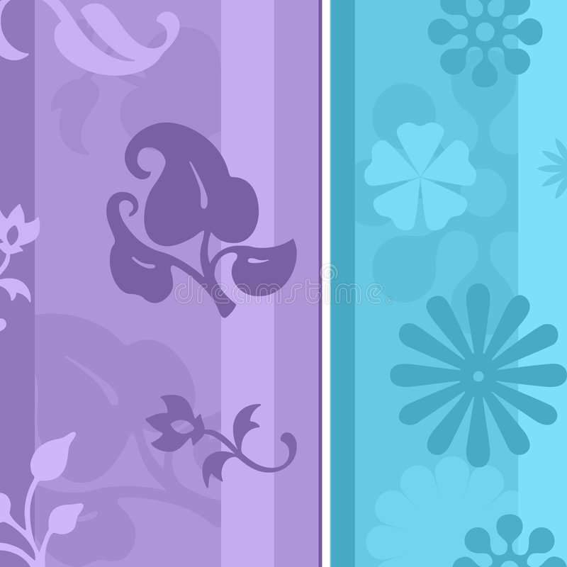 floral ταπετσαρία ελεύθερη απεικόνιση δικαιώματος