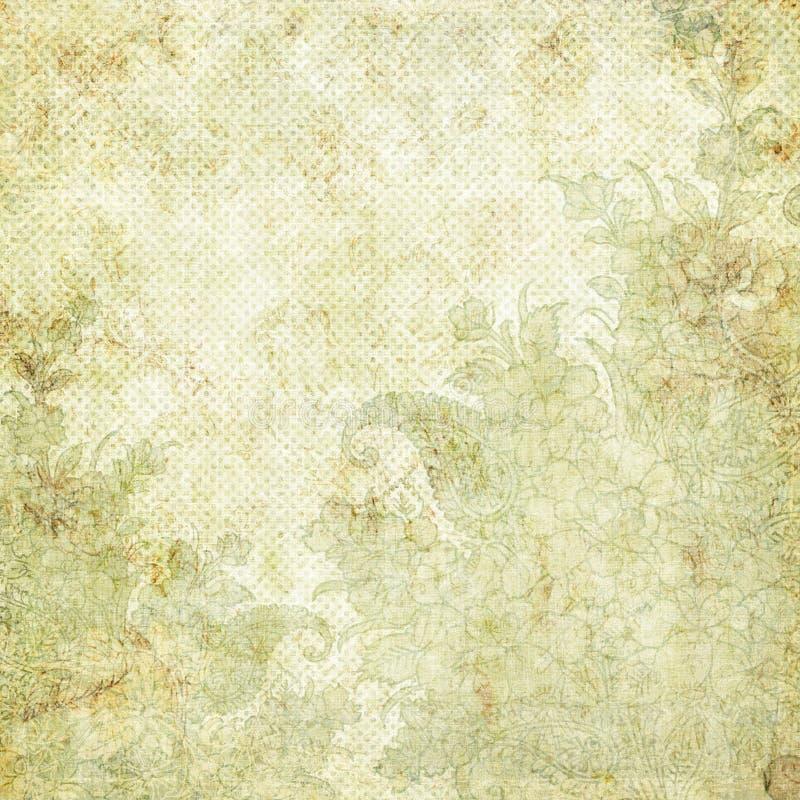 floral τρύγος θέματος Χριστου διανυσματική απεικόνιση