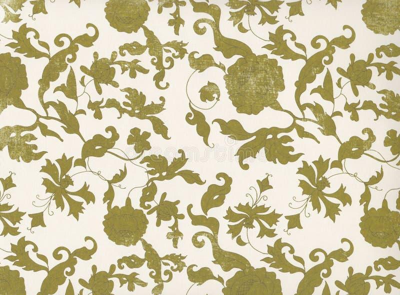 floral τρύγος Μοντέρνη διακοσμητική σύσταση απεικόνισης στοκ φωτογραφίες