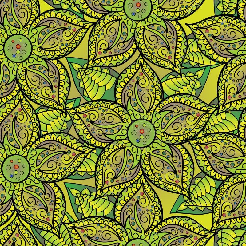 Floral υπόβαθρο ελεύθερη απεικόνιση δικαιώματος