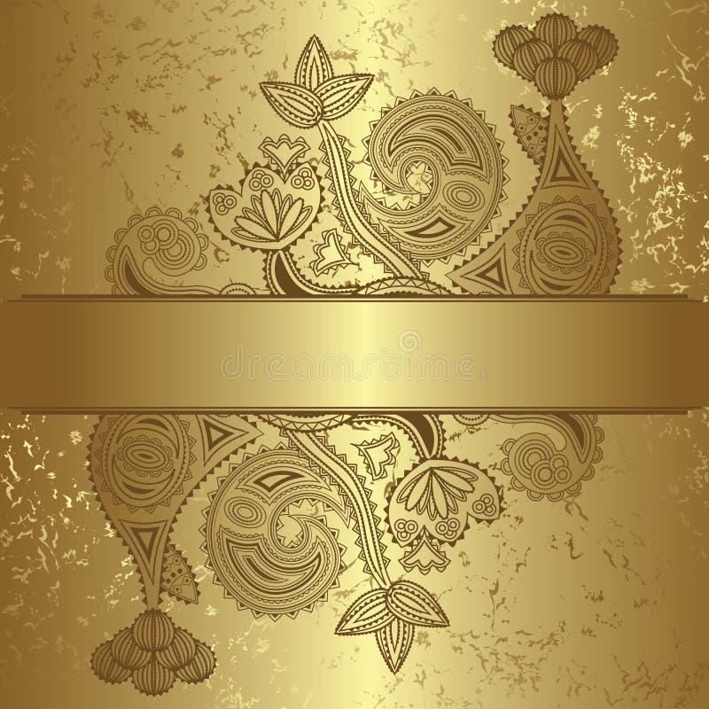 Floral υπόβαθρο διανυσματική απεικόνιση