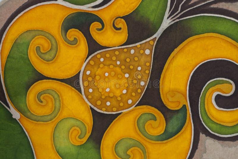 Floral υφαντικό υπόβαθρο μοτίβου στοκ εικόνες