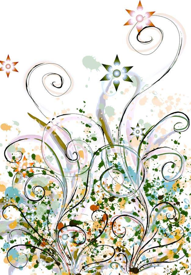 Floral stock de ilustración