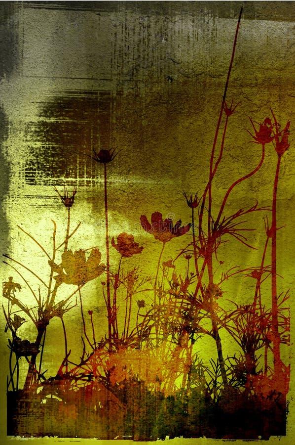 Floral ilustración del vector