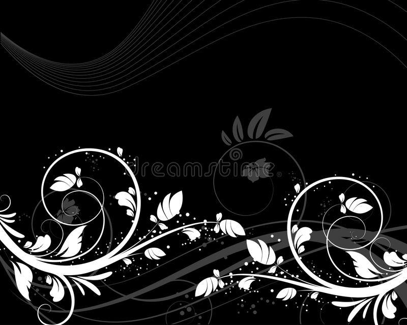 Download Floral abstract background stock vector. Image of artwork - 10584601