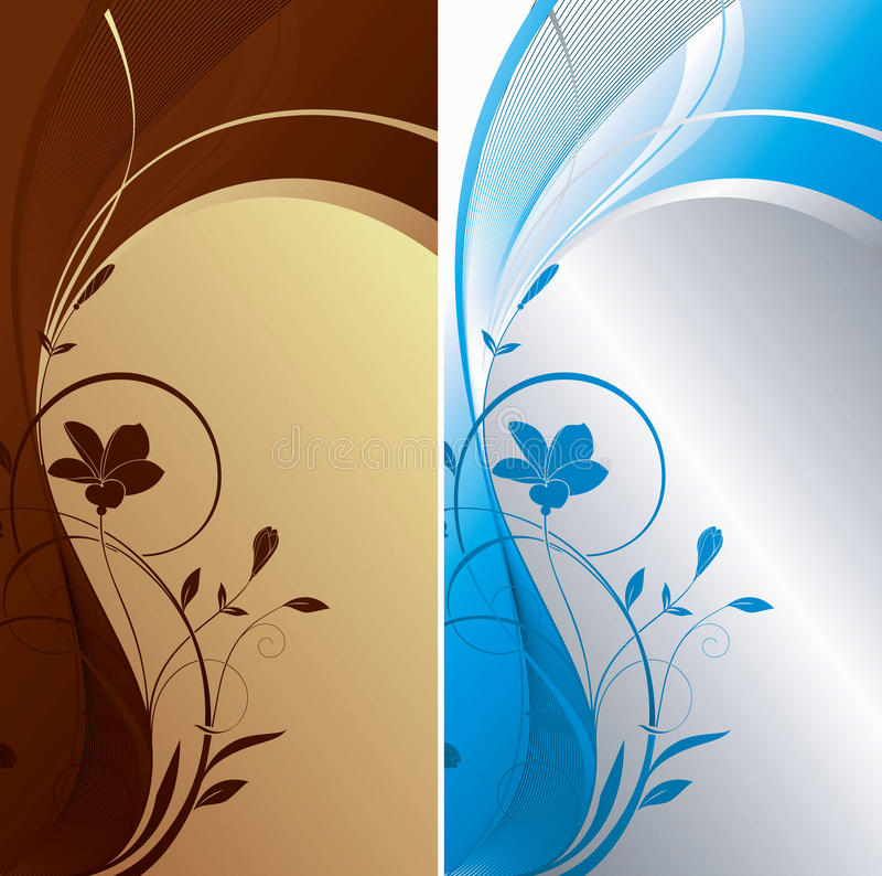 Download Floral Abstract Background stock vector. Illustration of brown - 13845018